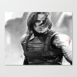 Winter Soldier/Bucky Barnes Canvas Print