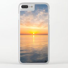 Quiet morning II Clear iPhone Case