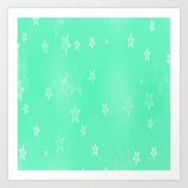 stars picture Art Print
