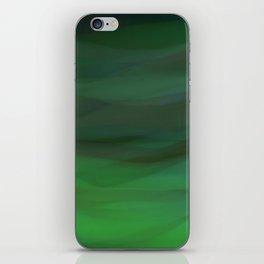 Green textures iPhone Skin