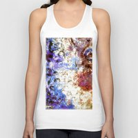 oil Tank Tops featuring Oil Puddle by Lyssia Merrifield