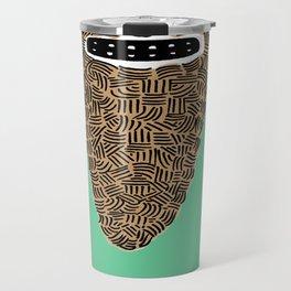 Dia De La Barba Travel Mug