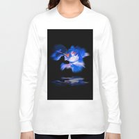lily Long Sleeve T-shirts featuring Lily  by Walter Zettl