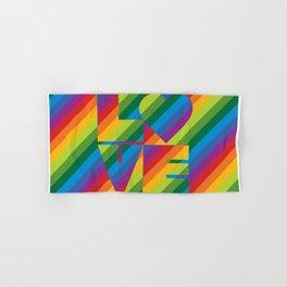 Rainbow Love Hand & Bath Towel
