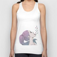 pills Tank Tops featuring -Pills by Victoria Ripalda Tamame