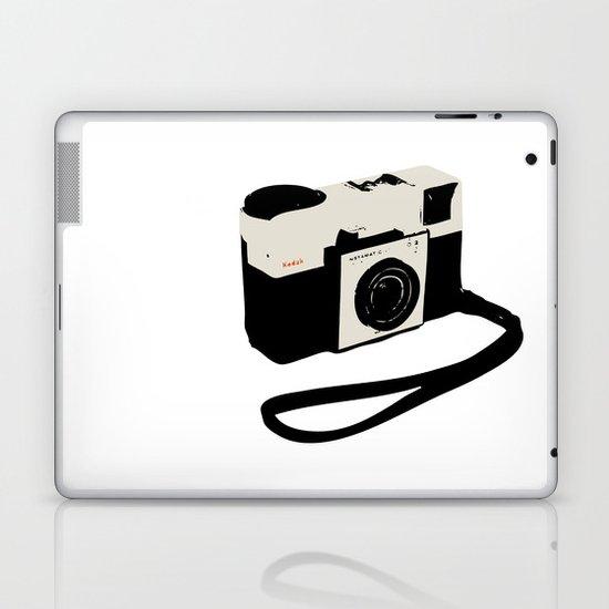 ivory kodak instamatic camera Laptop & iPad Skin