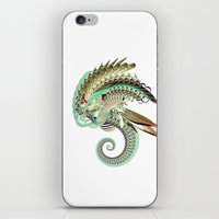 fig iPhone & iPod Skins featuring Fig. 36 by Andre Villanueva