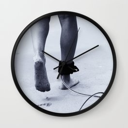 Footsteps Wall Clock