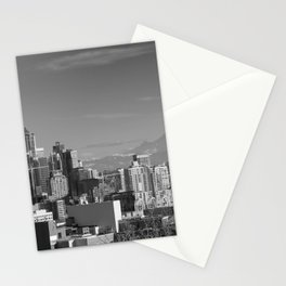 Seattle Winter White Stationery Cards
