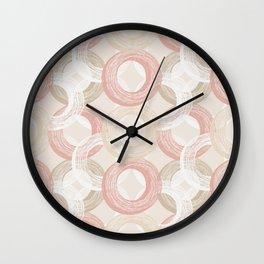Rings - by Kara Peters Wall Clock
