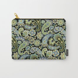 Winter Paisley Carry-All Pouch