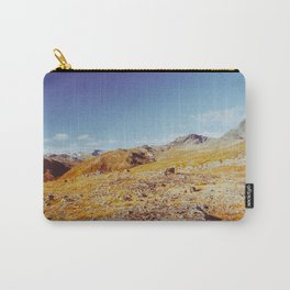 Fall in Scandinavia - Norwegian National Park Landscape Shot on Film Carry-All Pouch