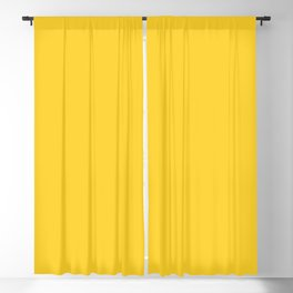 Pineapple Solid Color Block Blackout Curtain