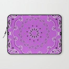 Purple oriental design Laptop Sleeve
