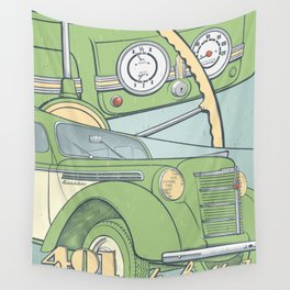 Moskvich 401 Wall Tapestry