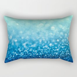 Tell Me True...Ocean Blue Rectangular Pillow