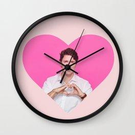 <3 Trudeau Wall Clock
