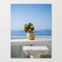 Santorini, Greece #society6 #decor #buyart Canvas Print