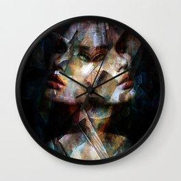 A Cubism Piece Wall Clock