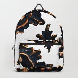 Frames on White. Backpack