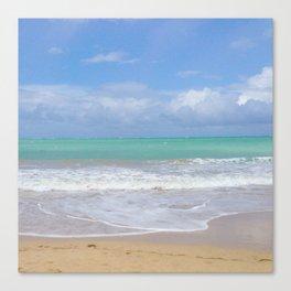Clear Ocean Canvas Print