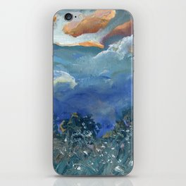 Outdoors at Dusk - New Zealand Landscape iPhone Skin