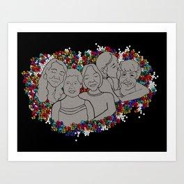 The Reunion Art Print