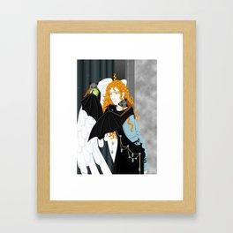 Lucifer and fruitbats Framed Art Print