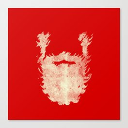 Santa Beard 2 Canvas Print