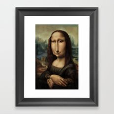 Mona Lisa Framed Art Print