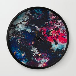 Meet Me in the Cosmos Wall Clock