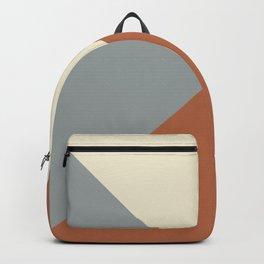 Origami Geo Tile // Terracotta Backpack