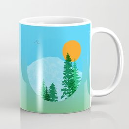 Rainier or Shine Coffee Mug