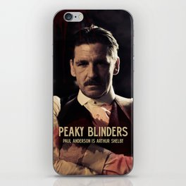 Peaky Blinders, Paul Anderson is Arthur Shelby, Cillian Murphy is Thomas Shelby, Tom Hardy iPhone Skin