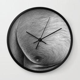 Dirty Pillows Left Wall Clock
