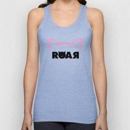 Woman Roar Unisex Tank Top