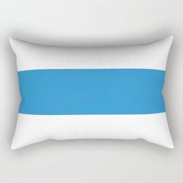 Zug region switzerland country flag swiss Rectangular Pillow