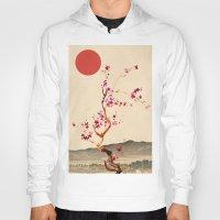 sakura Hoodies featuring Sakura by Ned & Ems