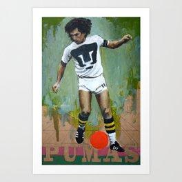 ONE LOVE - PUMAS Art Print