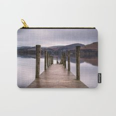 Lake View with Wooden Pier Carry-All Pouch