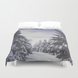 It's gonna clear up - Landscape and Nature Photography Duvet Cover