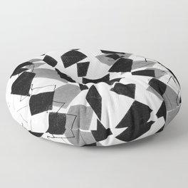 tribal diamonds Floor Pillow