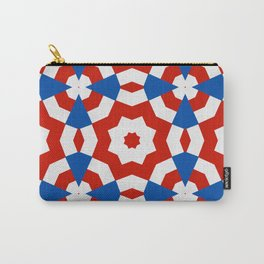 american style kaleidoscope background Carry-All Pouch