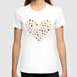 Vulva Heart T-shirt