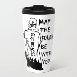 Minato Namikaze Fourth Hokage Travel Mug