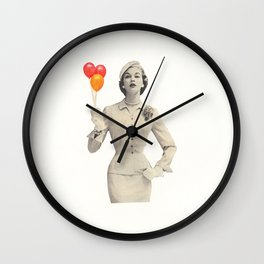 I am Woman Wall Clock