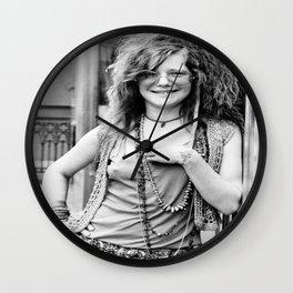 Janis#Joplin Music Poster Canvas Wall Art Home Decor Wall Clock