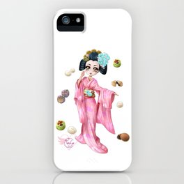 Wagashi pure iPhone Case