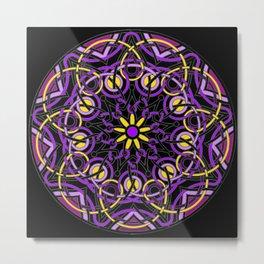 Mandhala Metamorphosis | Reiki | Meditation | Yoga Metal Print
