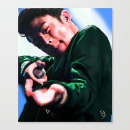 Beenzino in Action Canvas Print